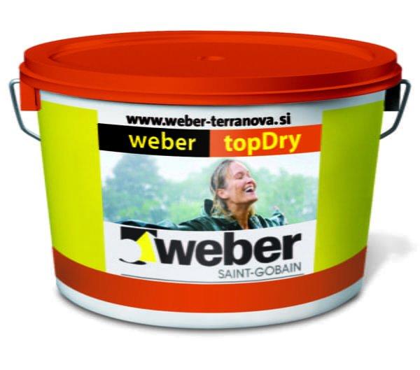Weber topDry završni dekorativni sloj