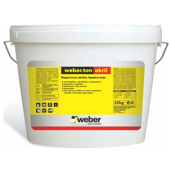 Weber akrilni zavšrni sloj