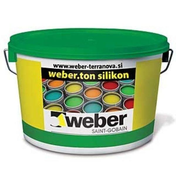 Weber silikonska fasadna boja