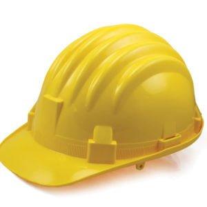 Zaštitna kaciga žuta